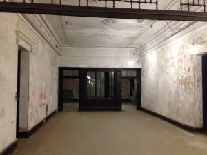 Hallway to Secretary Suite