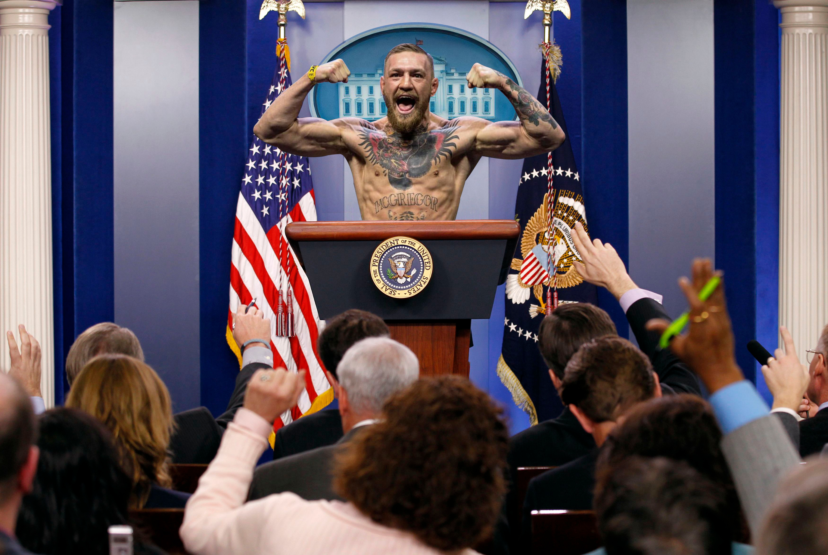 Press Sec McGregor